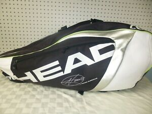 Novak Djokovic Pro Combo Head Cct Climate Control Backpack 8 Racquet Tennis Bag Ebay