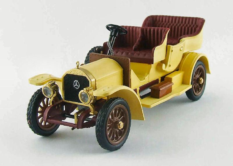 Mercedes Tourisme 1909 Yellow 1 43 Model RIO4392 RIO
