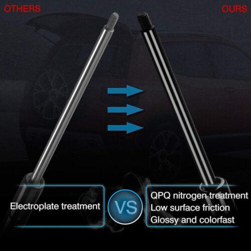 2Qty Front Hood Lift Support Strut Spring For Mercedes-Benz C180 C230 C240 C280