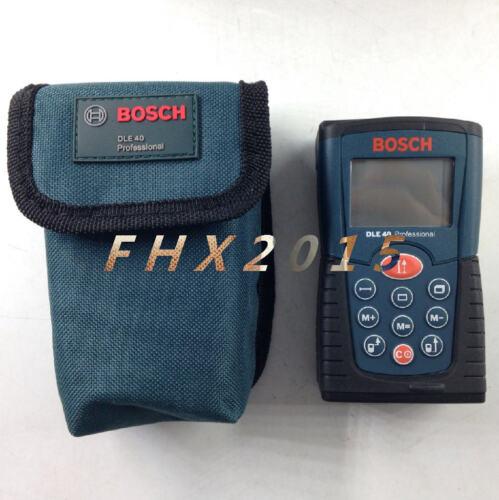 Bosch DLE 40 Laser Distance Meter Tester Range Finder Measure 40m Range Metric