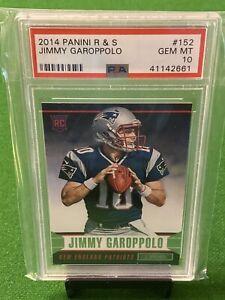 Jimmy Garoppolo 2014 Panini Rookies & Stars #152 RC PSA 10 🔥🔥🔥 49ers