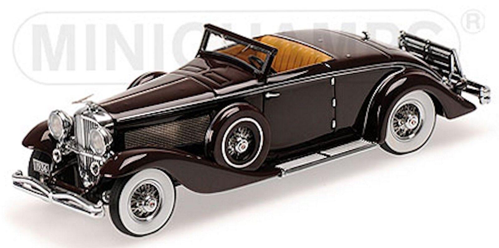 DUESENBERG sjn Convertible Coupe 1936 Dark-rouge First Class collection 1 43
