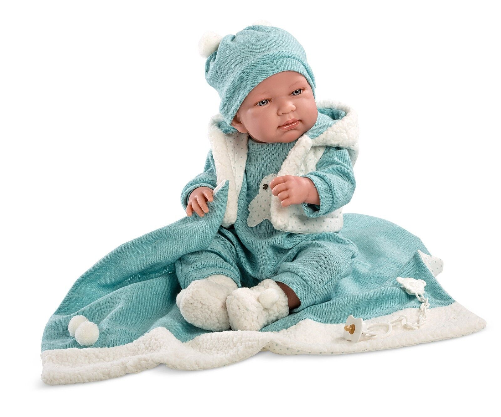 16  BABY BOY DOLL AGE 3+ CARTER AWAKE VINYL NEW BOXED GIFT REALISTIC LIFELIKE UK