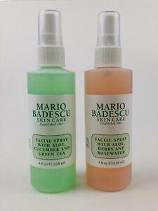 Details About Mario Badescu Facial Spray Set Cucumber Green Tea Herbs Rosewater New