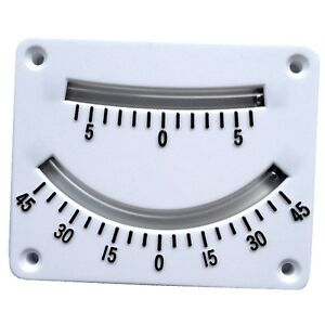 Details about Clinometer Twin Scale YACHT BOAT SAILING YACHTING INSTRUMENT