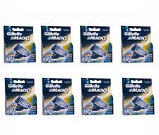 Gillette Mach3 Mach 3 Refill Razor Blades Pack of 32 (8 X 4/ 4 X 8 Pks)