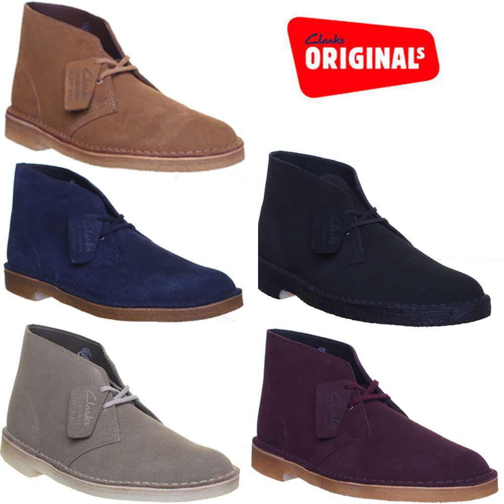 Clarks Originals in Desert Boot da Uomo Stivali in Originals Pelle Scamosciata Misura 86500b
