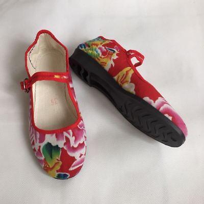 Chinaschuhe Stoffschuhe Ballerinas Trachtenschuhe Damenschuhe Größe: 35 - 42