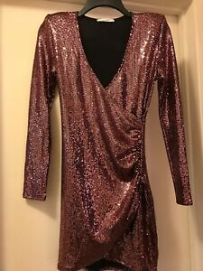 Gorgeous-Cherry-Mellow-Party-Dress-Size-Small-Brand-New