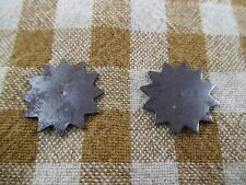 Civil War Relic Pair of Spur Rowels Non Dug
