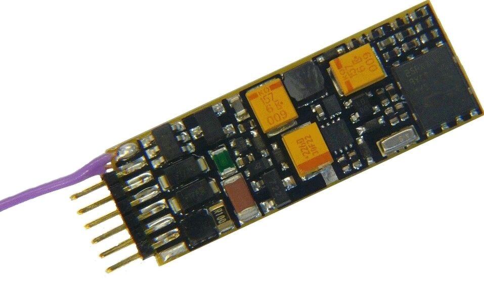 ZIMO MX646N Miniatur Sound-Decoder, 1,0 A, NEM651 (6-pol) direkt  | Erste Kunden Eine Vollständige Palette Von Spezifikationen