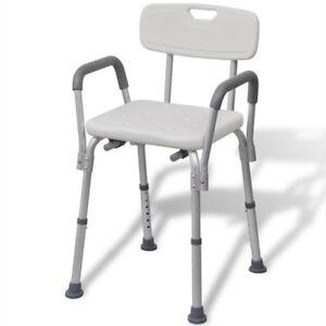 vidaXL-Sedia-da-doccia-con-schienale-sedile-anziani-disabili-in-alluminio-bianca