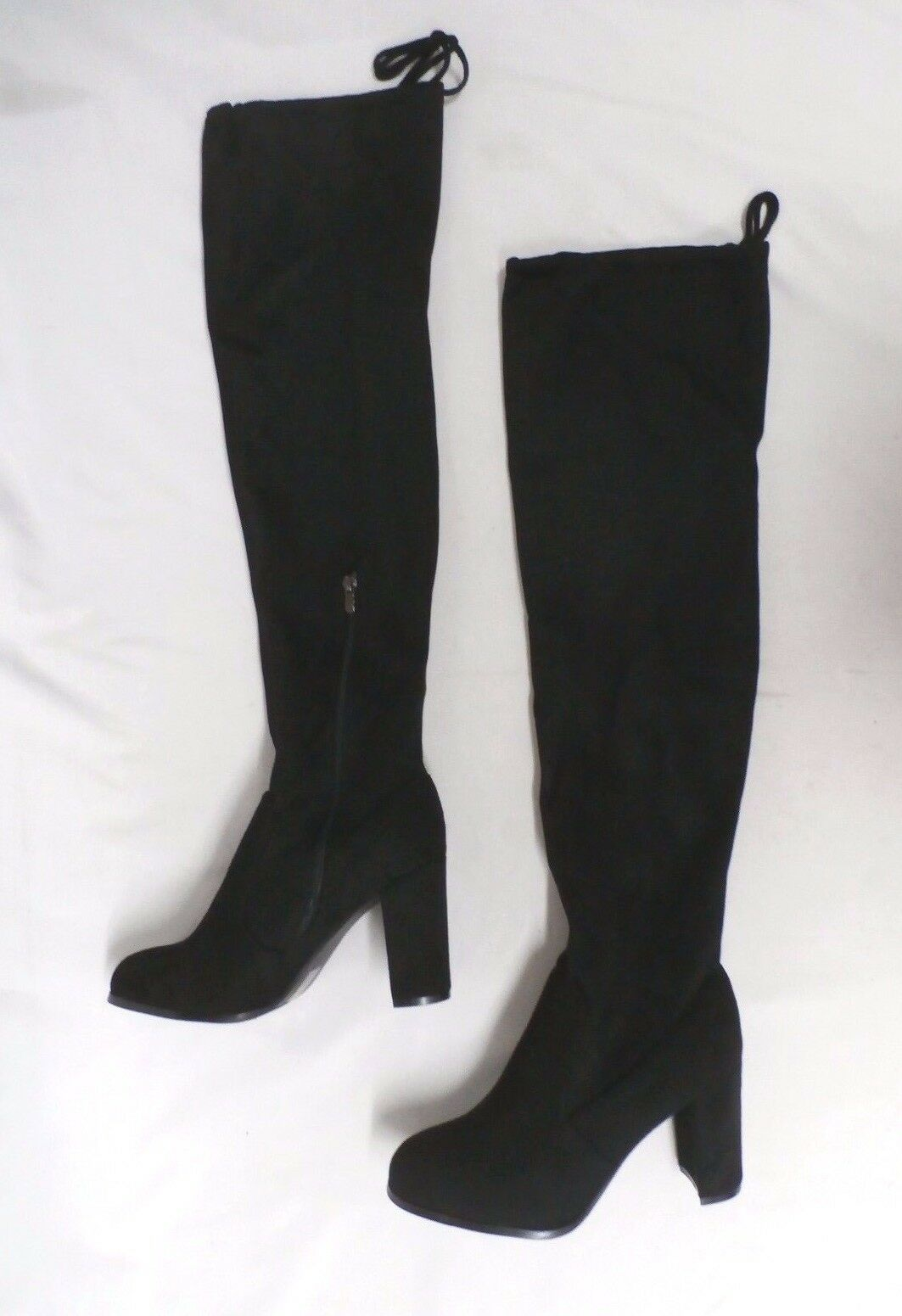SheSole Women's Thigh High Over The Knee Boots Black TW4 Size EUR:41 US:10