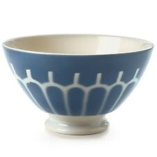 French Lunéville 19th Century Design Milk Earthware Coffee Bowl Cup 700ml