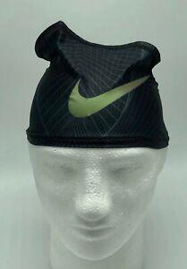 Nike-Pro-Dri-Fit-SuperNova-Skull-Wrap-Black-Dark-Grey-Iridescent-Men-039-s-Women-039-s
