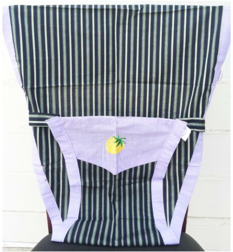 Blue New Portable Baby Chair//High Chair Harness green Stripes