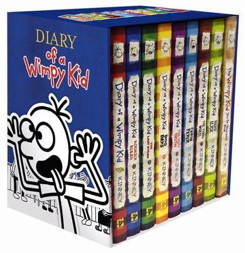Diary of a wimpy kid diary of a wimpy kid box of books 1 8 the do diary of a wimpy kid diary of a wimpy kid box of books 1 8 the do it yourself book by jeff kinney 2014 hardcover ebay solutioingenieria Gallery