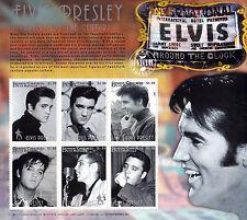 Elvis Presley Artist Of The Century UMM Stamp Sheet (Granada/Carriacou)