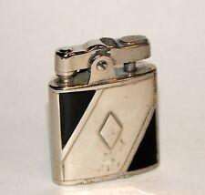 rare 1930s art deco black enamel ronson campus princess automatic petrol lighter