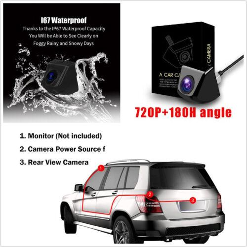 DC12V 180° View Angle Night Vision Korean Screw Autos Reverse Parking HD Camera