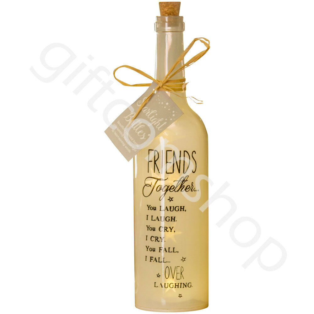 Friends Together - Starlight LED Bottle Christmas