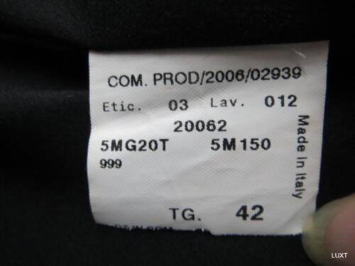 Italy Evening Euc 42 Black S 6 Jacket Floral Jacquard Collezioni Blazer Armani q7Cwxp0x