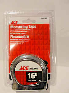 3//8-Inch x 100 Feet GreatNeck 100E English Rule Measuring Tape