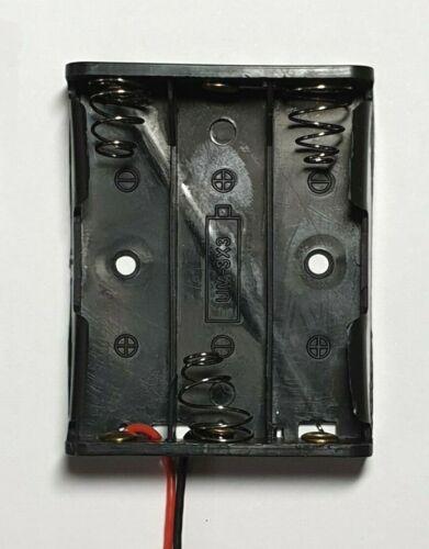 PORTA BATTERIA AA-Scegli tra 1-6 Slot 150mm fili di piombo-spedizione gratis in UK