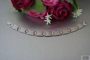 Gehorsam Herren Armband Edelstahlarmband Silber Gold Armkette Schmuck Neu K619