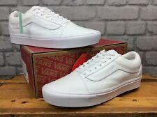 Mens VANS Old Skool Gum Sidestripe Ebony Trainers Shoes UK 5