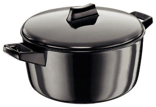 Hawkins Futura anodizado duro cocinar-n-Servir Bowl, 4 Litros, Negro