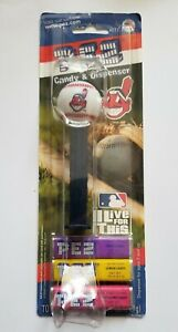 Cleveland Indians Retired Chief Wahoo Pez Candy & Dispenser ~  Unopened Package