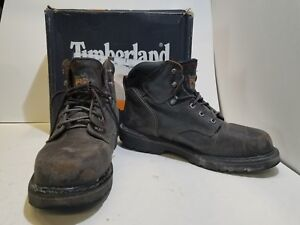 c4d8d425942 Details about Timberland PRO Pit Boss Soft Toe Mens Boot US 12W