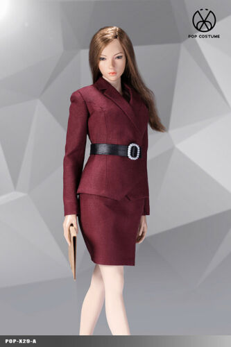 1//6 POPTOYS X29 X30 Female OL Clothes Suit Model Fit 12/'/' Solider Figure Body