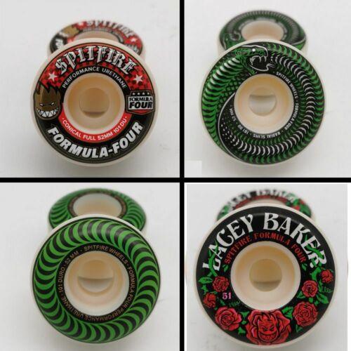 Original Spitfire Skateboard Wheels 51 52mm PU Material Double Rocker Skateboard
