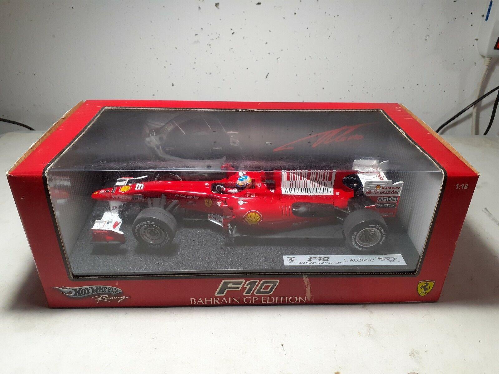 F10 Bahrain Gp Ausgabe Fernando Alonso, 1 18 heißWHEELS