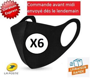 X6 Masques De Protection Lavables réutilisables Envoi Rapide de France SUIVI