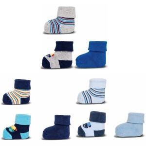 ewers-3er-Set-Baby-Socken-Erstlingssoeckchen-Betonmischer
