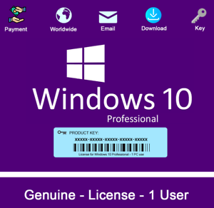 product key to activate windows 10 pro