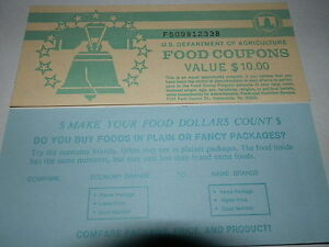 usda food stamp book covers assorted back