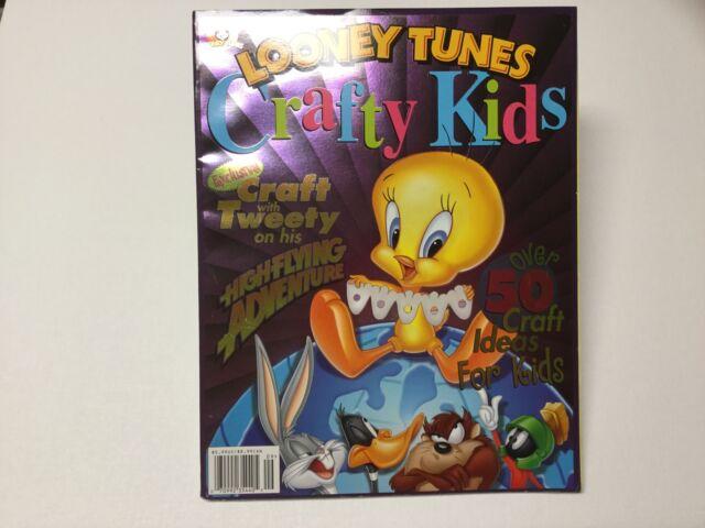 Looney Tunes Crafty Kids Craft Magazine Kids Teachers Day Care