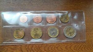 france 2000 sèrie 8 pièces neuves