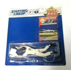 1995 Starting Lineup Chuck Knoblauch Twins MLB Baseball Diving Action Figure NIB