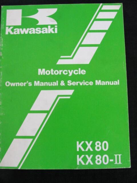 1986 Kawasaki Kx 80 Kx80