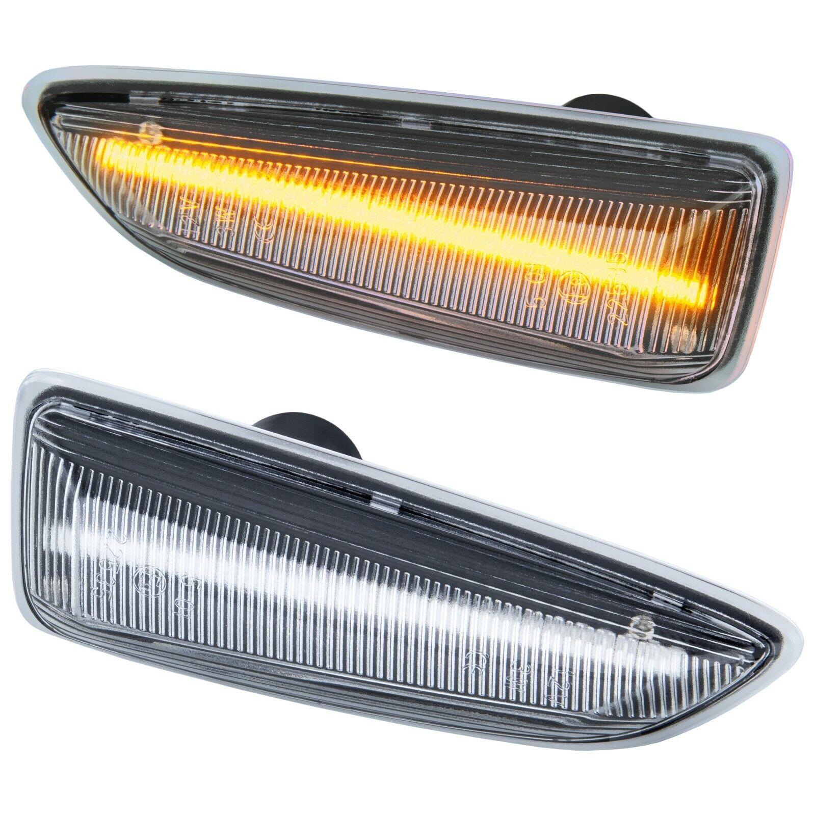 121 TOP Schwarz LED Seitenblinker Blinker Für Opel Insignia B CC Z18