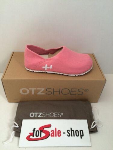 OTZ Schuhe Espadrilles mit Korkfußbett Pantoletten Unisex Gr.38 Prep Pink