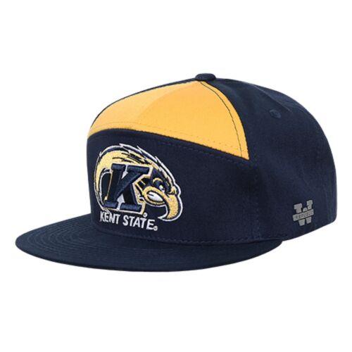 Kent State University The Golden Flashes Flat Bill Snapback Baseball Cap Hat