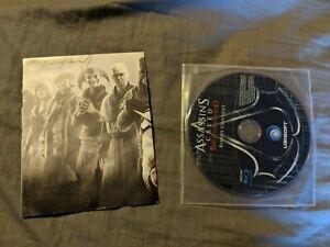 Assassin's Creed Brotherhood Bonus Content Blu-ray Disc and Poster 2010