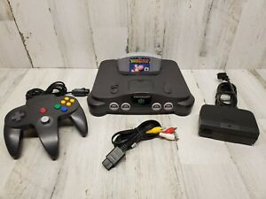 Nintendo 64 Console with Yoshi's Story Tested Ready To Play! Stick 7/10