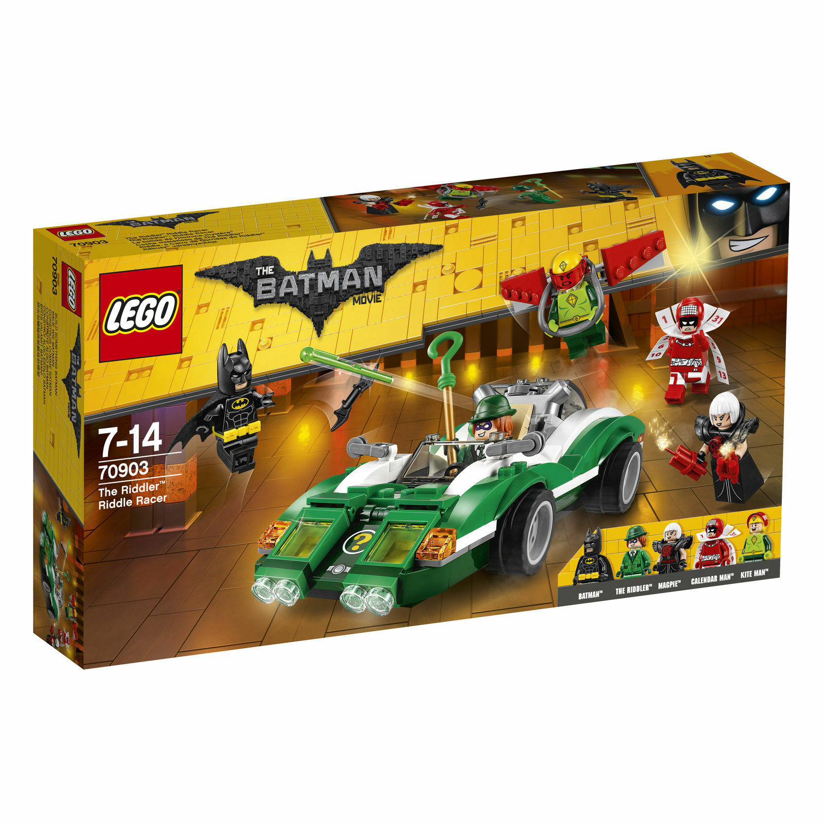 LEGO 70903 Batman Movie The Riddler Riddle Racer Batman Toy
